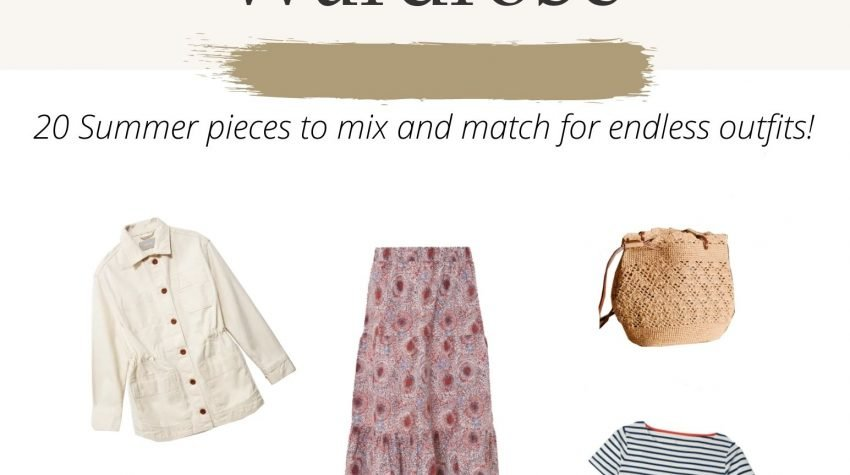 Summer Capsule Wardrobe Guide 2021 Featuring Ethical Fashion Brands