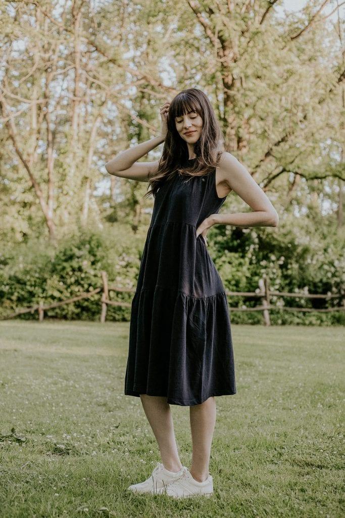 Everlane Summer Dress Review: The Weekend Tiered Dress