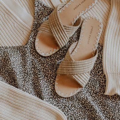 Jenni Kayne Review: Leopard Slip Dress, Cocoon Cardigan, + Crossover Sandals