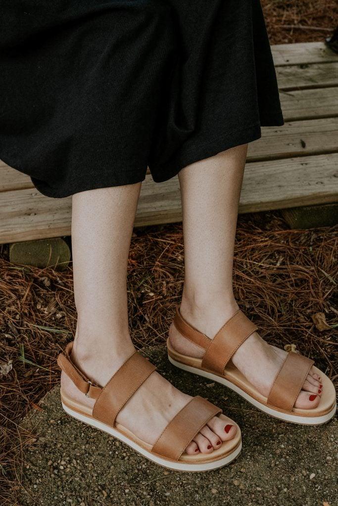 Nisolo Go-To Flatform Sandals