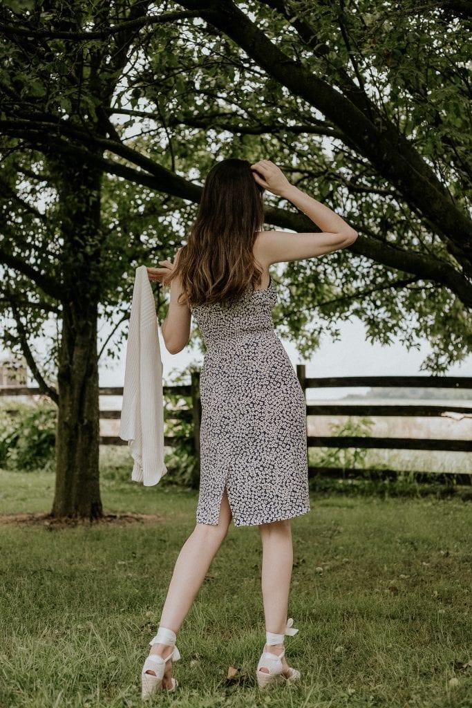 Rouje Cassandre Floral Dress