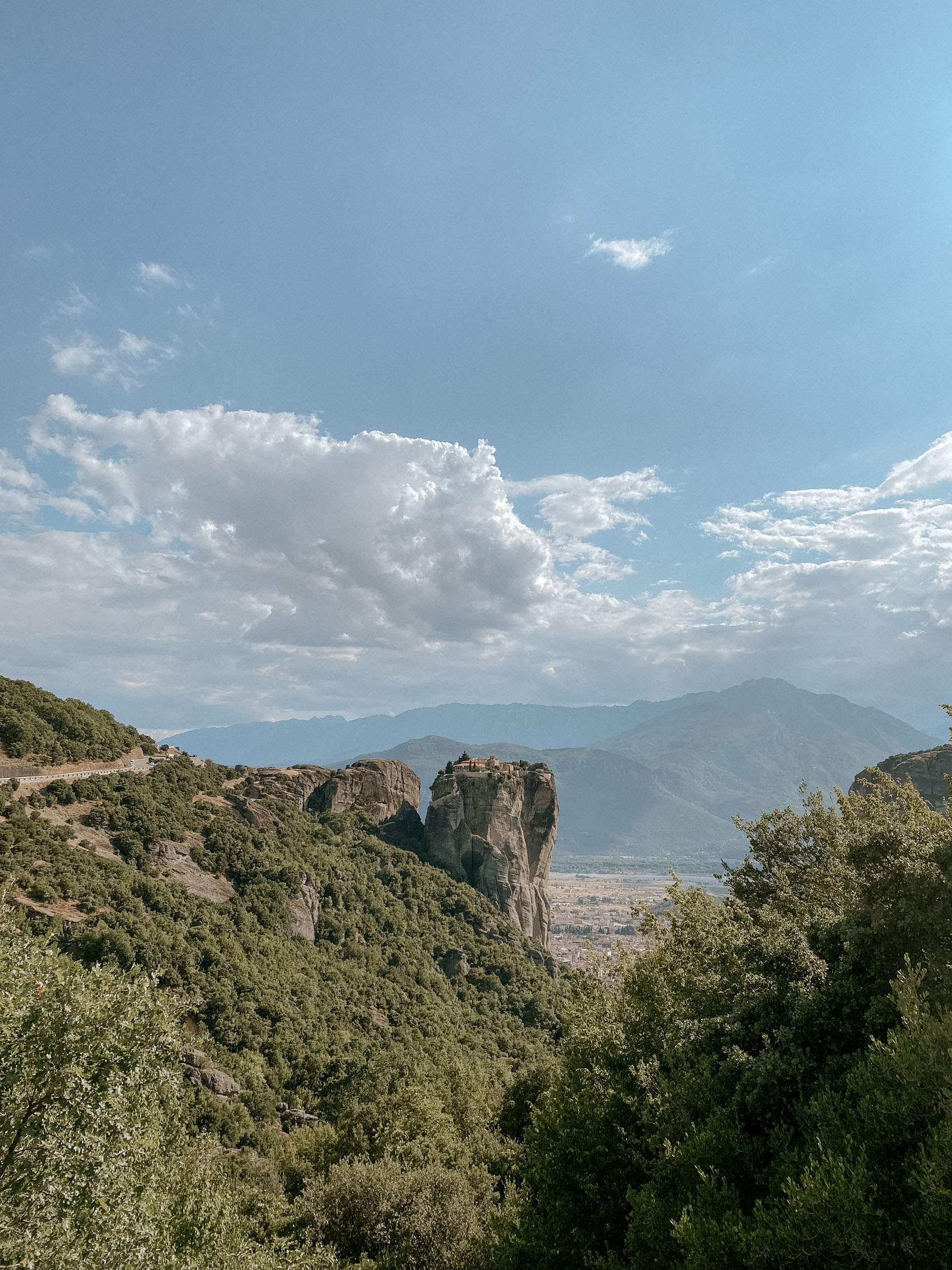 Visiting the Meteora Monasteries the Holy Trinity Monastery