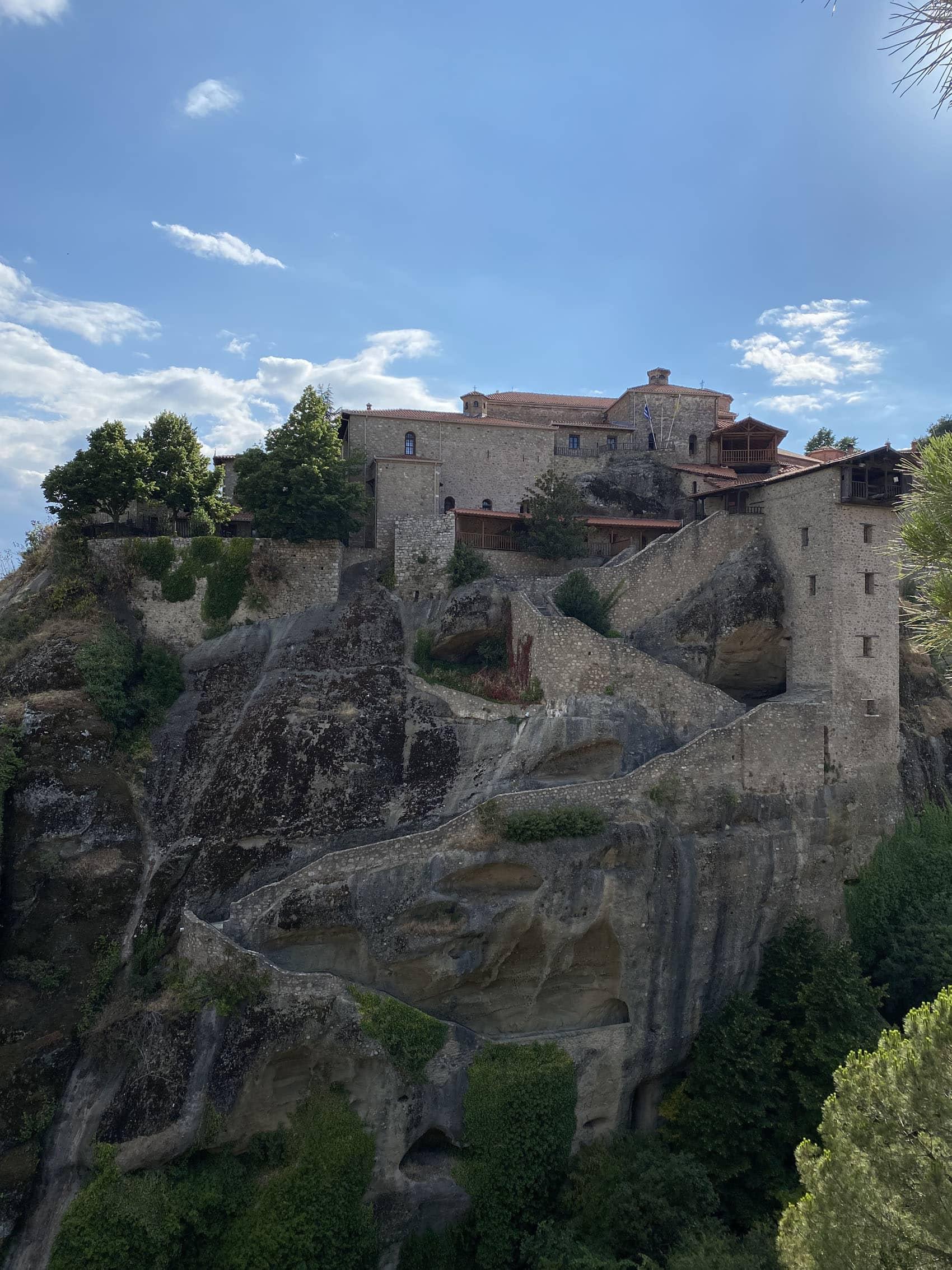 Visiting the Meteora Monasteries