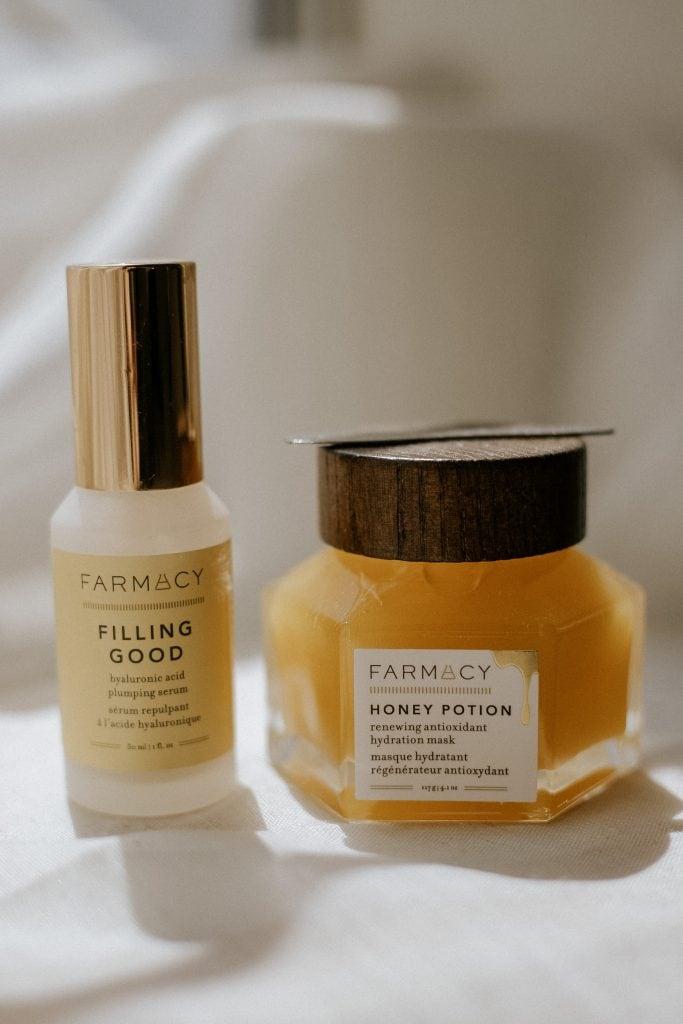 FARMACY Honey Potion Mask, Filling Good Serum