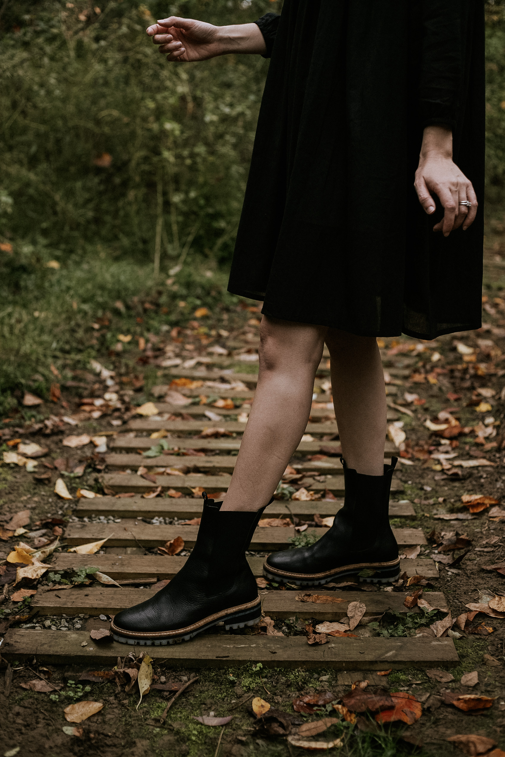 Freda Chelsea Boots with Lug Sole